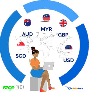 sage 300 multi currency features